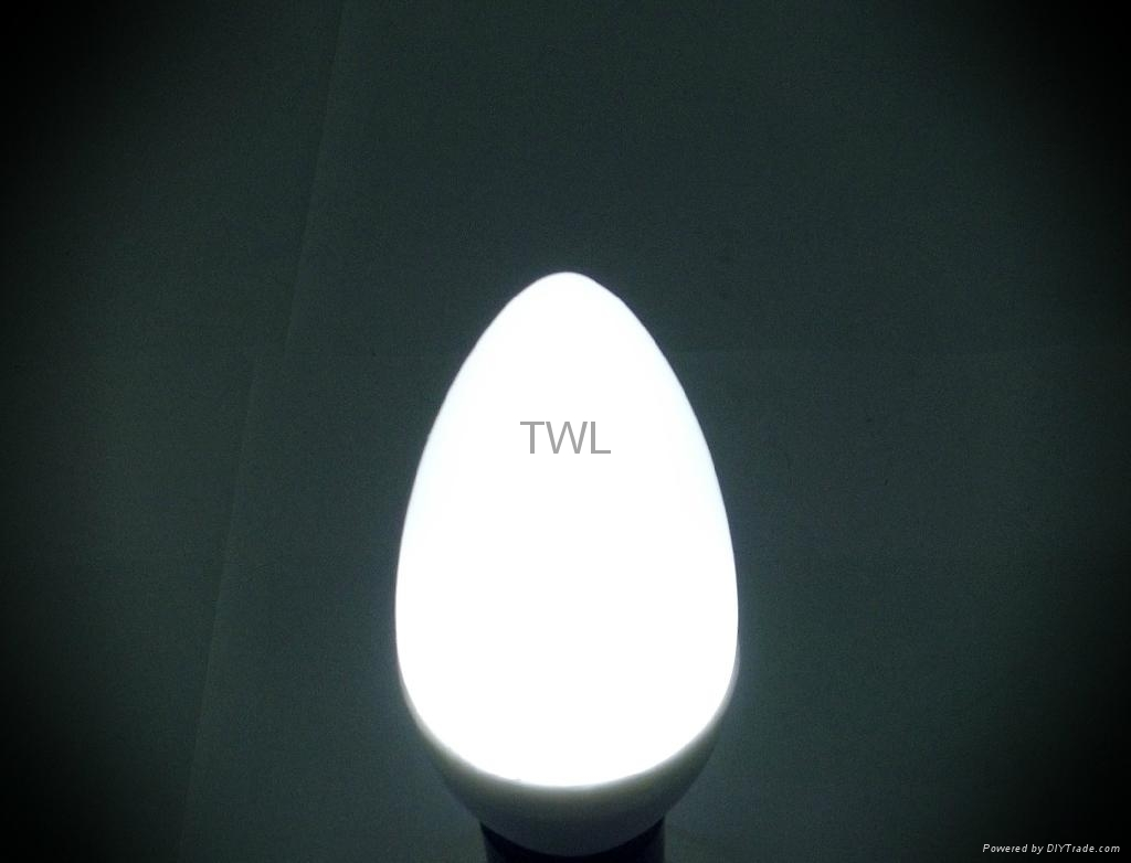 Hot Promotion And Low Price! 2W LED Candle Bulb 4