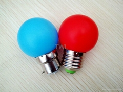 Mini LED Bulb Color LED Bulbs Lights E27/B22 0.5W