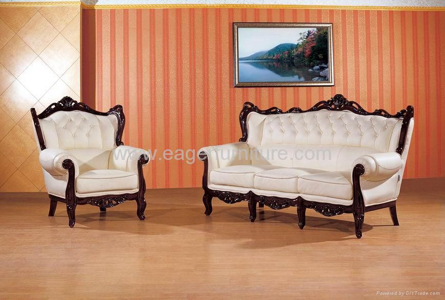 Ordinaire Classic Wooden Frame Sofa