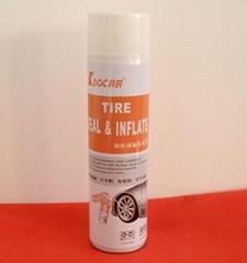 汽车轮胎充气补漏剂