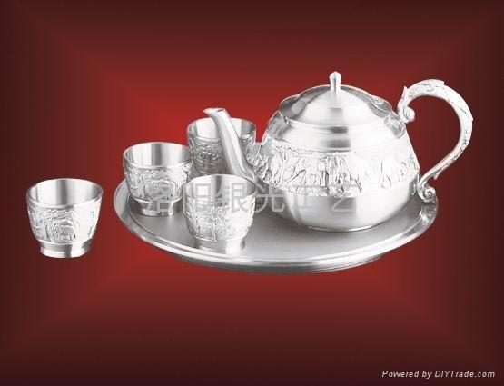 純銀茶葉罐1 2