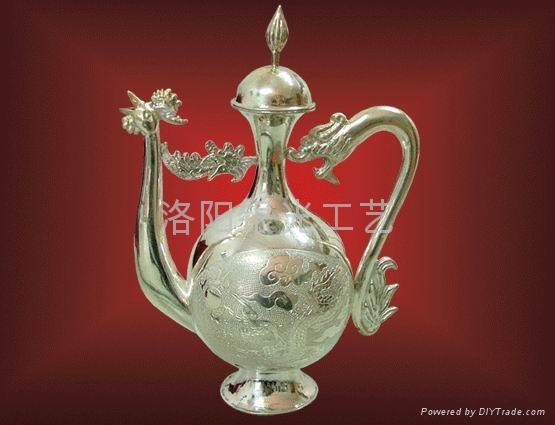 純銀龍鳳酒具1 3