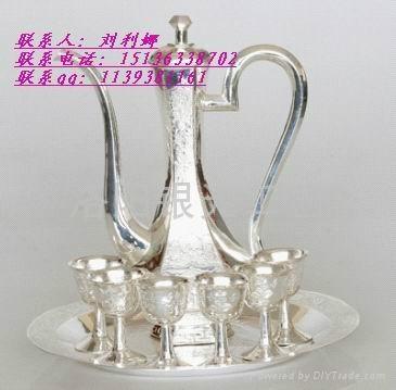 純銀龍鳳酒杯廠家1 1