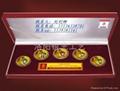 上海纯银纪念币生产定制厂家1
