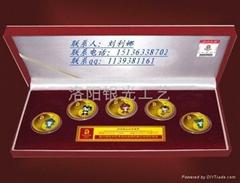 上海純銀紀念幣生產定製廠家1