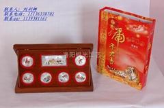 上海專業定製純銀紀念幣1