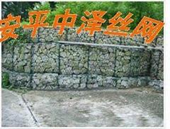 石笼网 格宾网 石笼网土墙应用