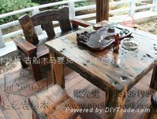 嘉桥古船木客厅家具