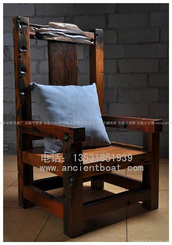 嘉桥古船木椅 1