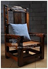 嘉橋古船木椅