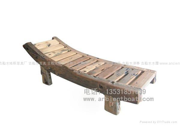 嘉桥古船木椅 3