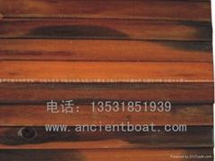 嘉橋古船木特色牆面板