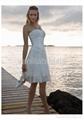 Gorgeous Strapless Short Wedding Dress