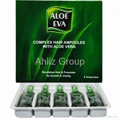 Complex HAIR Ampoules With ALOE VERA 5 Ampoules