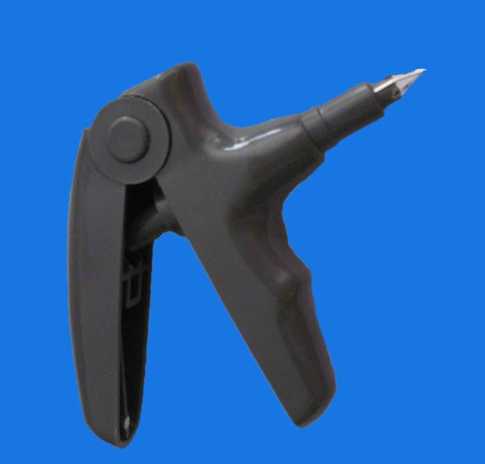 Orthodontic ligature gun shooter