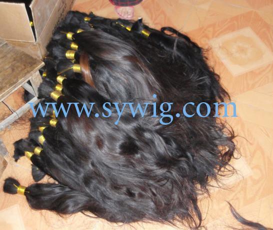 human hair bulk/virgin hair bulk 1