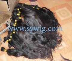 human hair bulk/virgin hair bulk