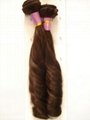 100% human hair weft / human hair