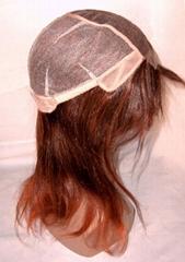 human hair wig / lace wig