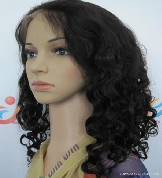 Synthetic hair wig  1