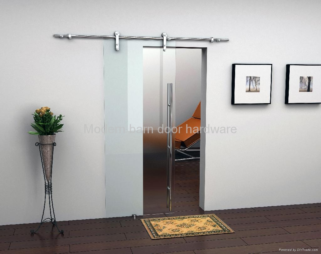 Modern Barn Door Hardware For Glass Door Ty005 Tengyu