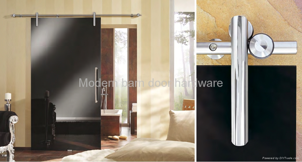Barn Style Glass Sliding Door Hardware TY006 Tengyu China