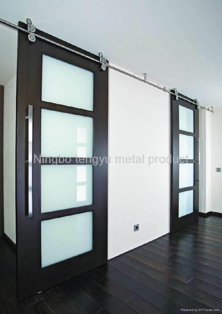 Sliding door hardware for wood door ty145 tengyu china