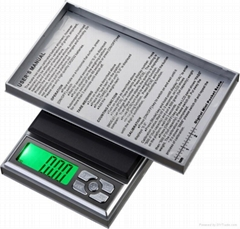 digital Jewelry pocket scale