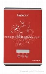 供应恋尔快速电热水器新款K30-02F红色