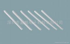 Fiber optic splice protection heat shrink tubing