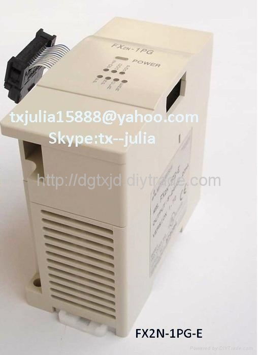 Mitsubishi  FX2N-1PG-E & FX2N-2DA Special functional unit and Expansion unit 1