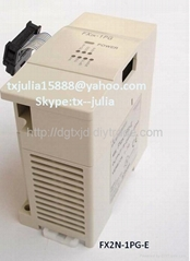 Mitsubishi  FX2N-1PG-E & FX2N-2DA Special functional unit and Expansion unit