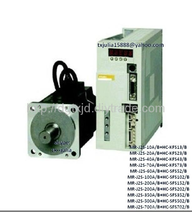 Mitsubishi  MR & HC series Servo drive MR-J3-10A+HC-KP13                      2