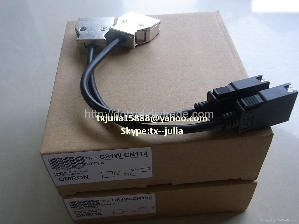 Programming Cable&USB for Omron  PLC&HMI screen  CS1W-CN114 1