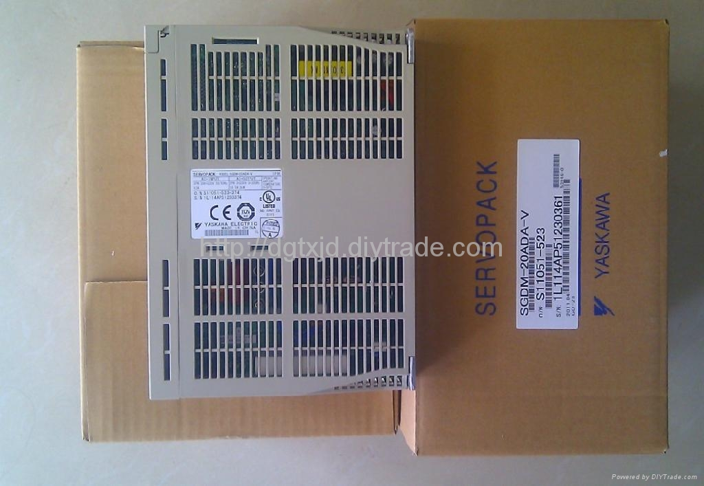 Yaskawa servo drive and Inverter SGDM-20ADA-V
