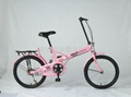 Supply of high-carbon steel manufacturer Dresser lion folding bicycle 1