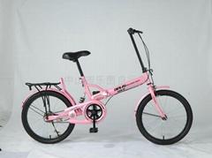 廠家供應高碳鋼德萊獅折疊自行車