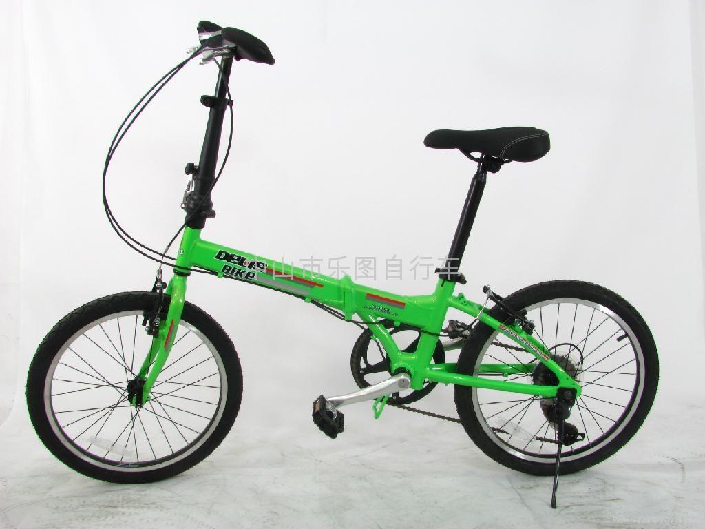 Dresser lion aluminum folding bicycle 2