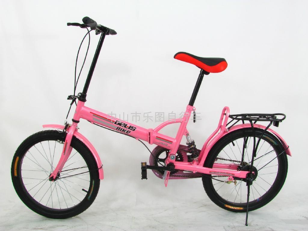 Dresser lion aluminum folding bicycle 3