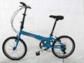 Dresser lion aluminum folding bicycle 4