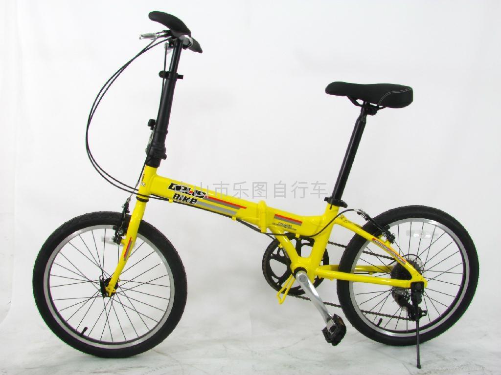 Dresser lion aluminum folding bicycle 5