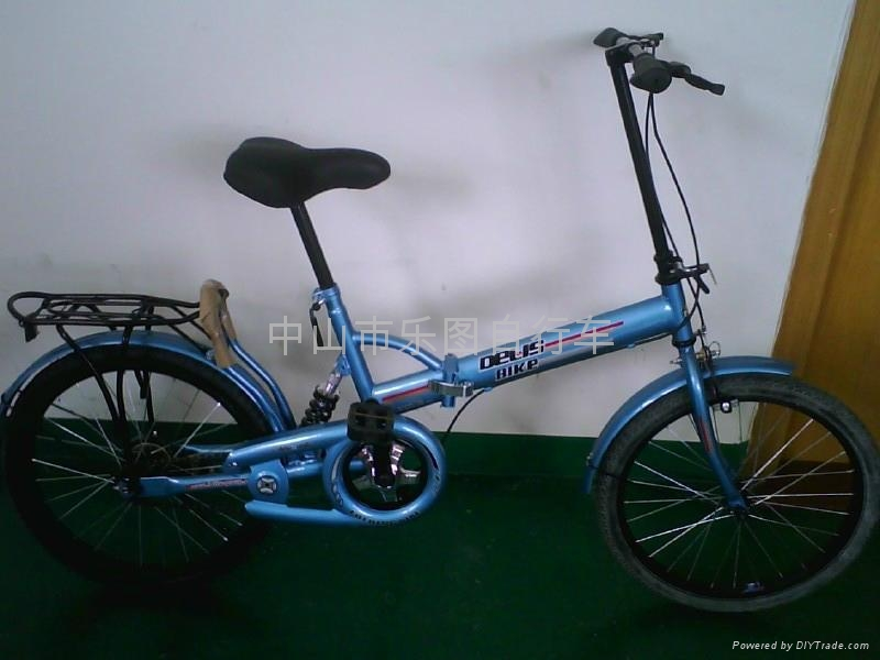 Supply of high-carbon steel manufacturer Dresser lion folding bicycle 5