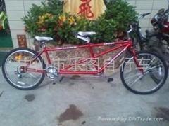 休閑觀光雙人自行車(出口版)