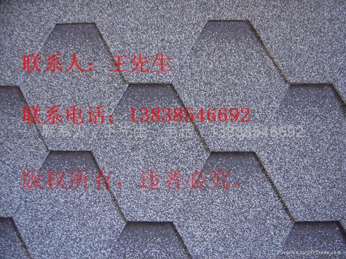 供應河南鄭州多彩玻纖瓦瀝青瓦油氈瓦 1