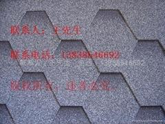 供應河南鄭州多彩玻纖瓦瀝青瓦油氈瓦