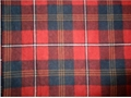 Flannel Printed Check Fabric
