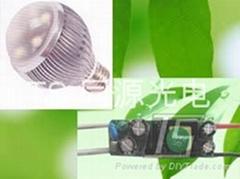 5*1W LED球泡燈電源 TS-E51S