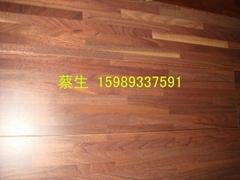 黑胡桃多層實木復合地板