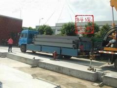 上海120噸電子地磅防爆秤