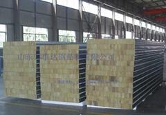 Rock wool composite panels